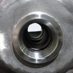 Turbocharger center housing